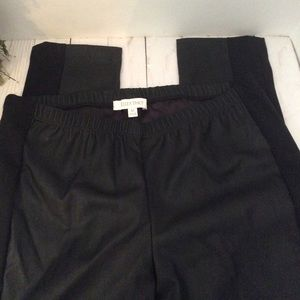 Ellen Fisher Faux Leather with strip spandex